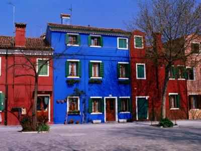 Colourful House Facades., Burano, Veneto, Italy