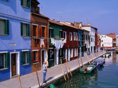 Fondamenta Cavanella Houses, Burano, Veneto, Italy