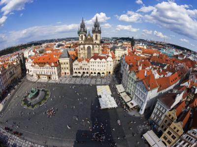 Old Town Square from Old Town Hall Tower