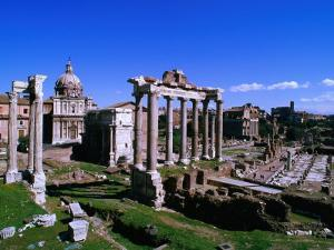 Roman Forum Ruins., Rome, Lazio, Italy by Christopher Groenhout