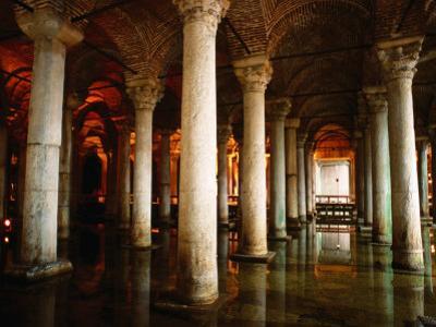 Underground Cistern, Istanbul, Istanbul, Turkey