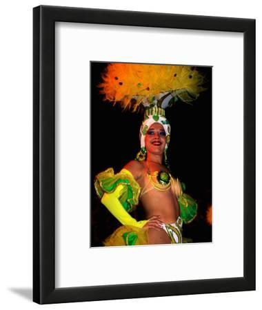 Female Dancer at Centro Nocturno Cabaret, Holguin, Cuba