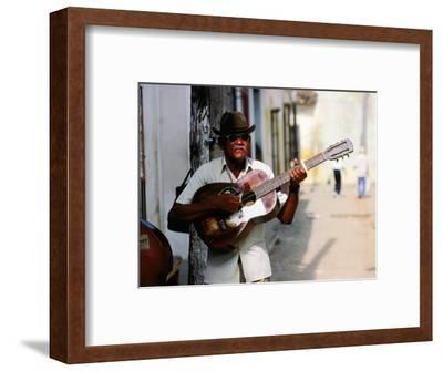 Guitar-Playing Troubador, Trinidad, Sancti Spiritus, Cuba