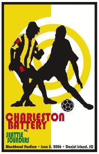 Charleston Battery vs.Seattles Sounders by Christopher Rice