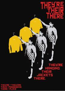 Grasping Grammar: They're There Their by Christopher Rice