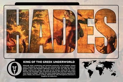 Hades Mythology Poster