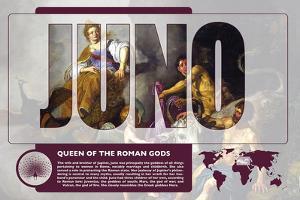 Juno Mythology Poster by Christopher Rice