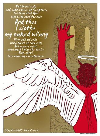 King Richard III: My Naked Villany