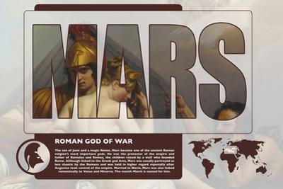 Marts Mythology Poster