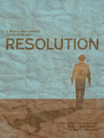 Resolution (Grapes Of Wrath) - Element of a Novel