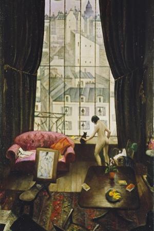 A Studio in Montparnasse by Christopher Richard Wynne Nevinson