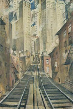 The Soul of the Soulless City (New York - an Abstraction)
