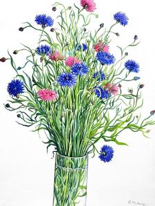Cornflowers by Christopher Ryland