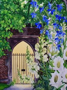 Flowers by a Sunlit Gateway, 2008 by Christopher Ryland