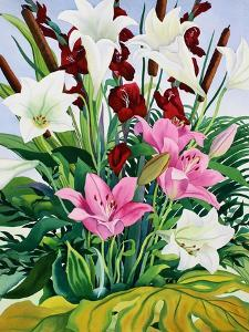 Lilies and Bullrushes by Christopher Ryland