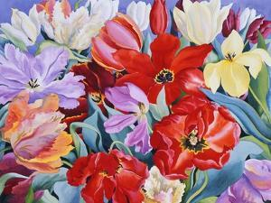 Massed Tulips, 2003 by Christopher Ryland