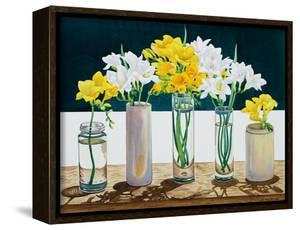Still Life Freesias by Christopher Ryland