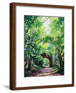 Sudbury Bridge and Trees by Christopher Ryland