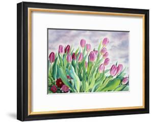 Tulips by Window by Christopher Ryland