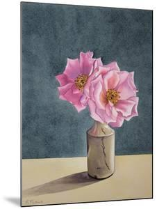 Two Late Roses by Christopher Ryland