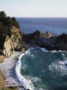 California, Big Sur Coast, Julia Pfeiffer Burns Sp, Mcway Falls by Christopher Talbot Frank