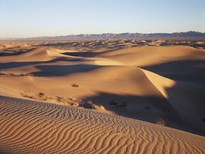 California, Imperial Sand Dunes, Patterns of Glamis Sand Dunes by Christopher Talbot Frank