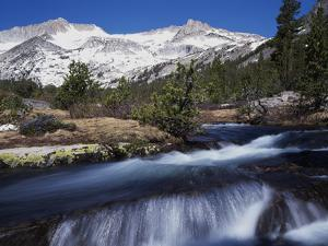 California, Sierra Nevada Mts, Inyo Nf, a Creek in the High Sierra by Christopher Talbot Frank