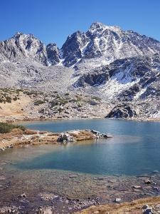 California, Sierra Nevada Mts, Mountains and a Glacial Lake in the Nf by Christopher Talbot Frank