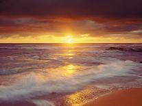 Sunset Cliffs Beach on the Pacific Ocean at Sunset, San Diego, California, USA-Christopher Talbot Frank-Photographic Print