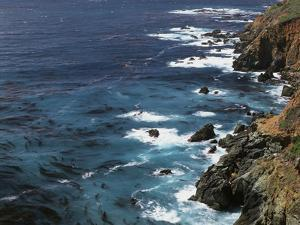 USA, California, Seascape of the Pacific Ocean by Christopher Talbot Frank