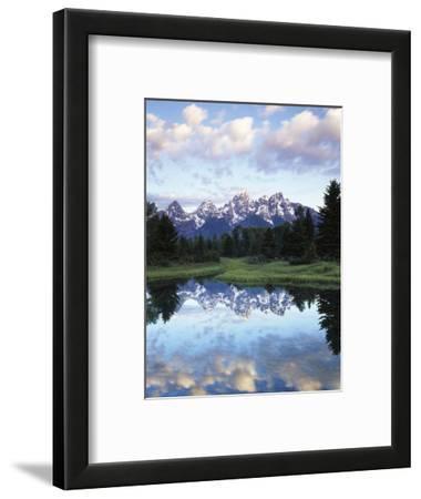 Wyoming, Grand Teton National Park, Rocky Mts, the Grand Tetons and Snake River
