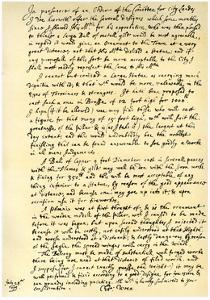 Report by Sir Christopher Wren, 28th July 1675 by Christopher Wren