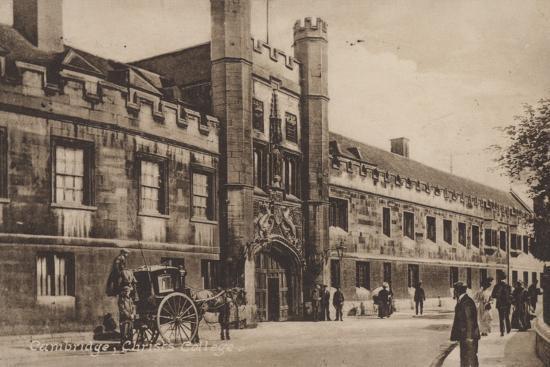 Christs College, Cambridge--Photographic Print