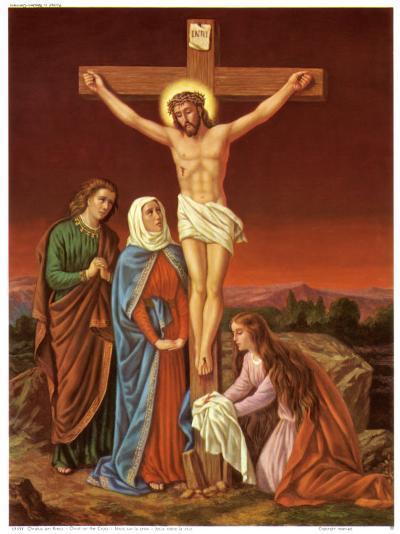 Christus am Kreuz--Art Print
