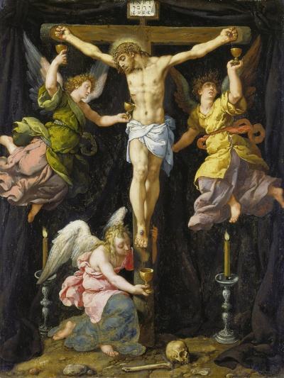Christus Am Kreuz-Francois Pourbus-Giclee Print