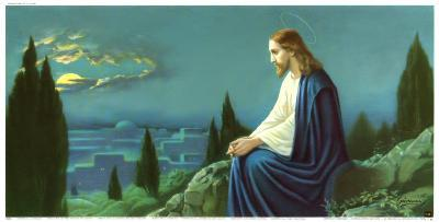 Christus am Olberg-Giovanni-Art Print