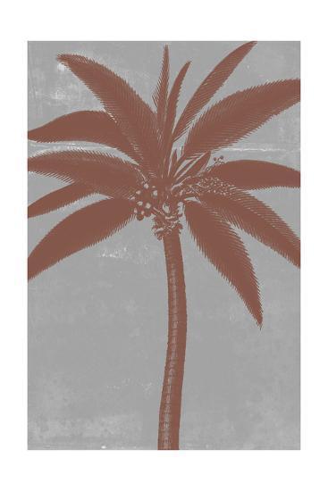 Chromatic Palms VII-Jennifer Goldberger-Art Print