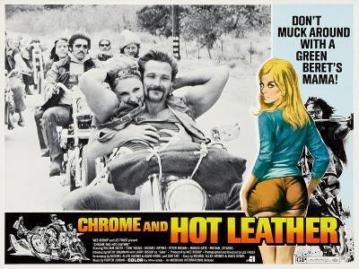 Chrome And Hot Leather, Kathrine Baumann, 1971--Art Print