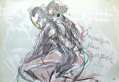 Chronique D'Un Voyeur III-Serge Kantorowicz-Limited Edition
