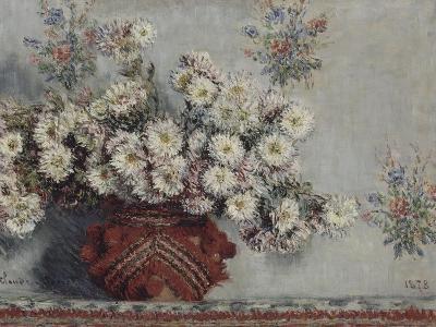 Chrysanthèmes-Claude Monet-Giclee Print