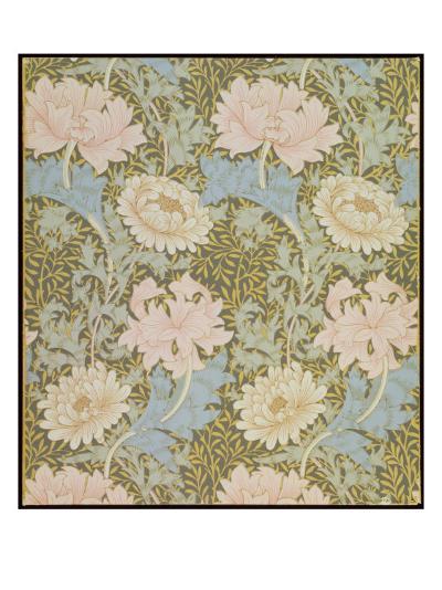 Chrysanthemum' Wallpaper, 1876-William Morris-Giclee Print