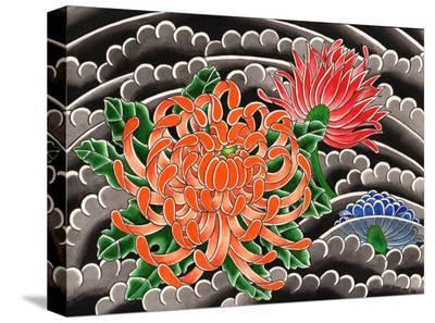 Chrysanthemum-David Simmes-Stretched Canvas Print