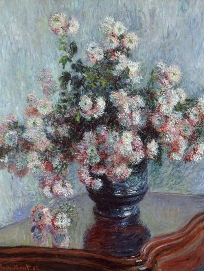 Chrysanthemums, 1882-Claude Monet-Giclee Print