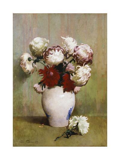 Chrysanthemums, 1893-Emil Carlsen-Giclee Print