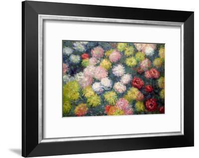 Chrysanthemums, 1897-Claude Monet-Framed Giclee Print