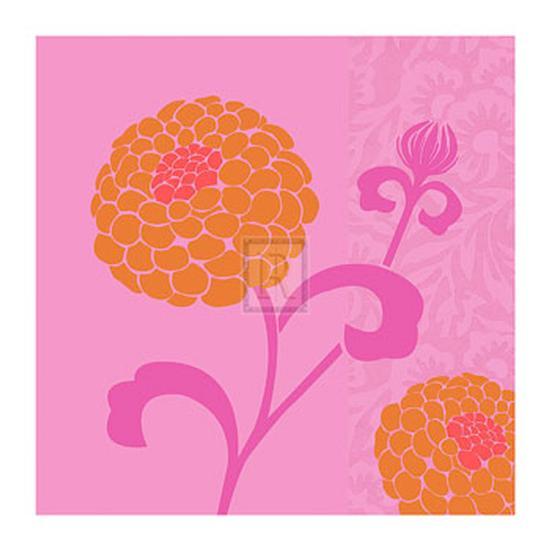 Chrysanthemums I-Max Carter-Art Print