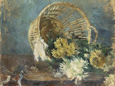 Chrysanthemums or the Overturned Basket, 1885-Berthe Morisot-Giclee Print