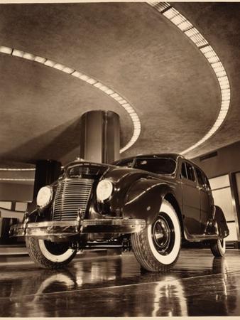 Chrysler Airflow Four Door Sedan, Pub. 1937