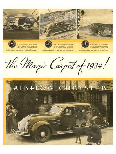 Chrysler Airflow- Magic Carpet--Art Print