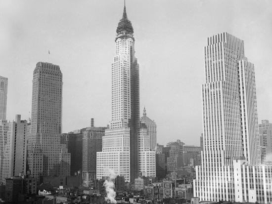 Chrysler Building 1929--Photographic Print